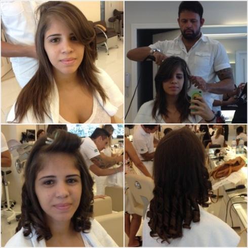 Werner-cabelo-preparação