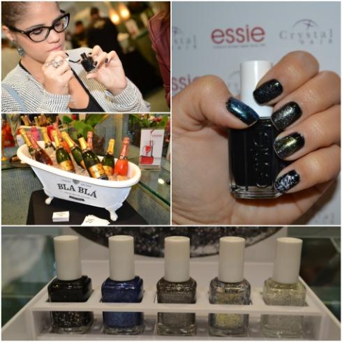 Essie-encrusted